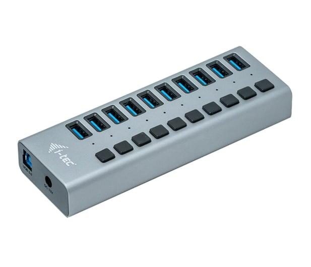 i-tec HUB USB 3.0 (10 portów, ładowanie do 10W) - 503661 - zdjęcie