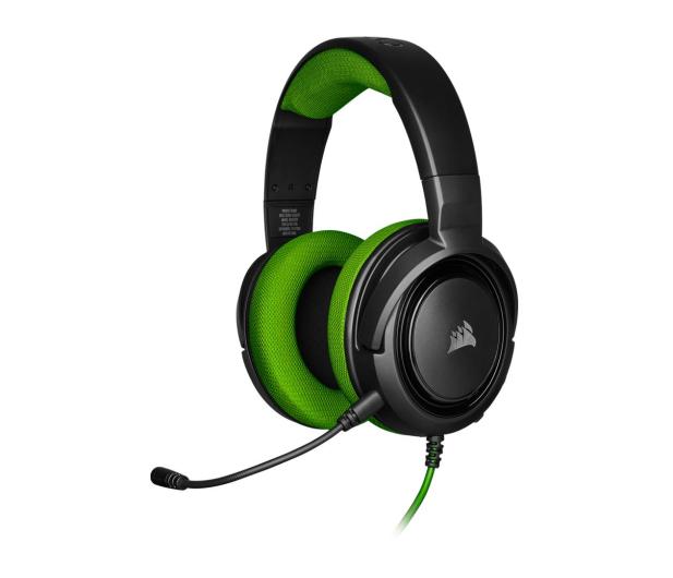 Corsair HS35 Stereo Gaming Headset (zielony)  - 504083 - zdjęcie