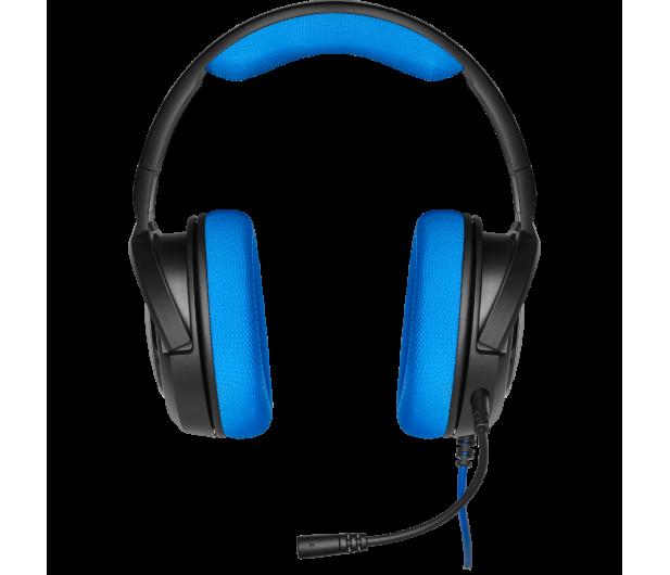 Corsair HS35 Stereo Gaming Headset (niebieski)  - 504081 - zdjęcie 2