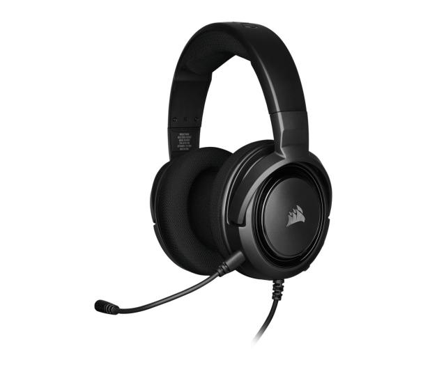 Corsair HS35 Stereo Gaming Headset (czarny) - 504080 - zdjęcie