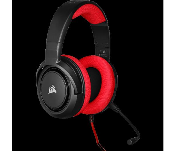 Corsair HS35 Stereo Gaming Headset (czerwony)  - 504084 - zdjęcie 3