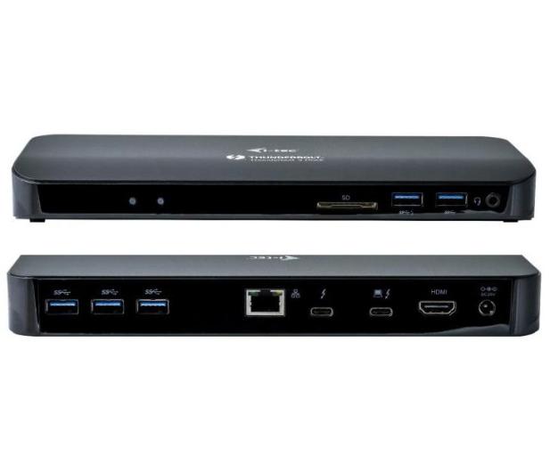 i-tec USB-C - USB, RJ-45, HDMI, Thunderbolt3, DP, 85W - 503270 - zdjęcie 3