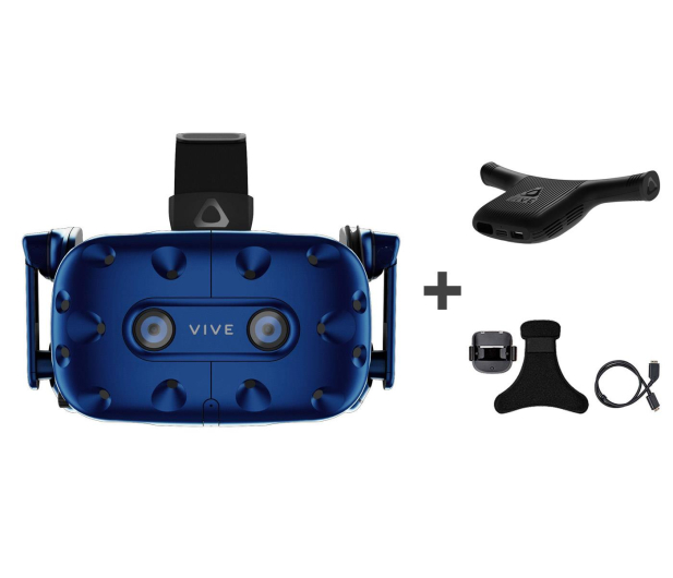 HTC HTC VIVE PRO Full Kit + Wireless Adapter + Klips - 507325 - zdjęcie