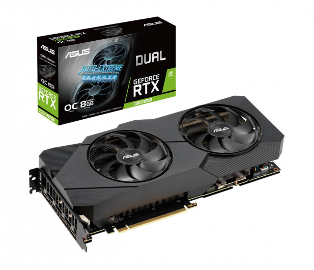 ASUS GeForce RTX 2080 SUPER DUAL EVO OC 8GB GDDR6 - 507478 - zdjęcie