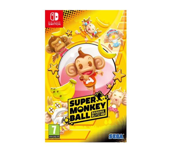 Switch Super Monkey Ball: Banana Blitz HD - 507316 - zdjęcie