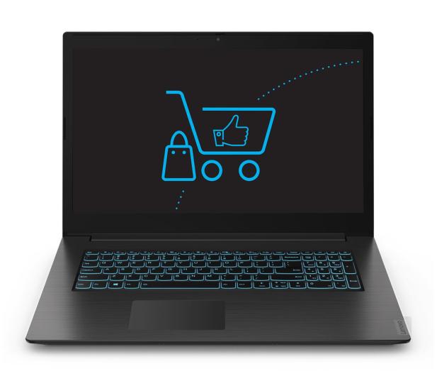 Lenovo IdeaPad L340-17 i5-9300H/8GB/256/Win10 GTX1050 - 513264 - zdjęcie 3