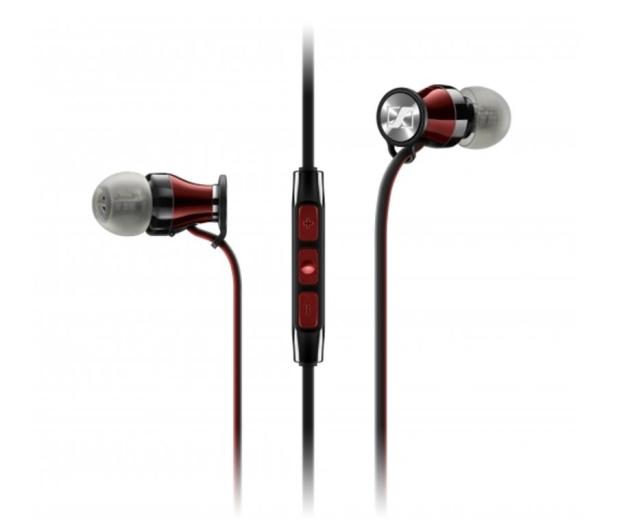 Sennheiser Momentum In-Ear M2 IEi czarno-czerwony - 443363 - zdjęcie