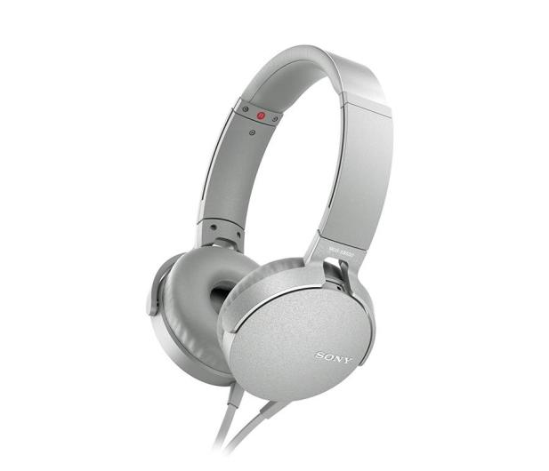 Sony MDR-XB550AP Białe - 507498 - zdjęcie