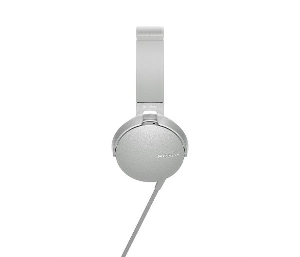 Sony MDR-XB550AP Białe - 507498 - zdjęcie 2