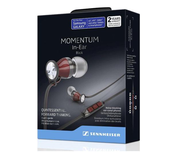 Sennheiser Momentum In-Ear M2 IEG czarno-czerwony - 443361 - zdjęcie 4