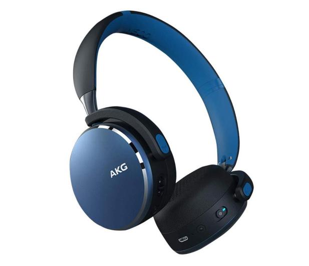 AKG Y500 Wireless Niebieskie - 508027 - zdjęcie