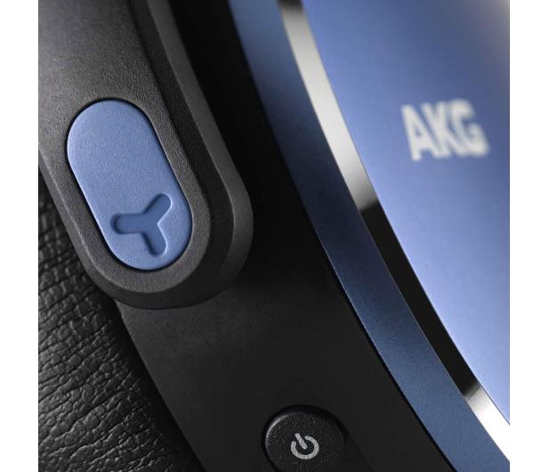AKG Y500 Wireless Niebieskie - 508027 - zdjęcie 3