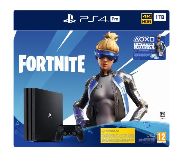 Sony PlayStation 4 PRO 1TB SSD + Fortnite DLC - 514362 - zdjęcie 7