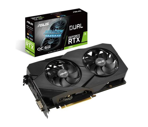 ASUS GeForce RTX 2060 DUAL EVO OC 6GB GDDR6  - 507702 - zdjęcie