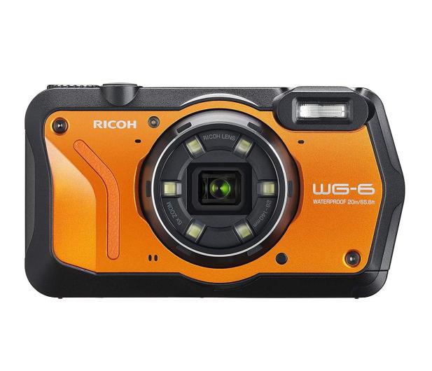 Ricoh WG-6 pomarańczowy  - 507271 - zdjęcie