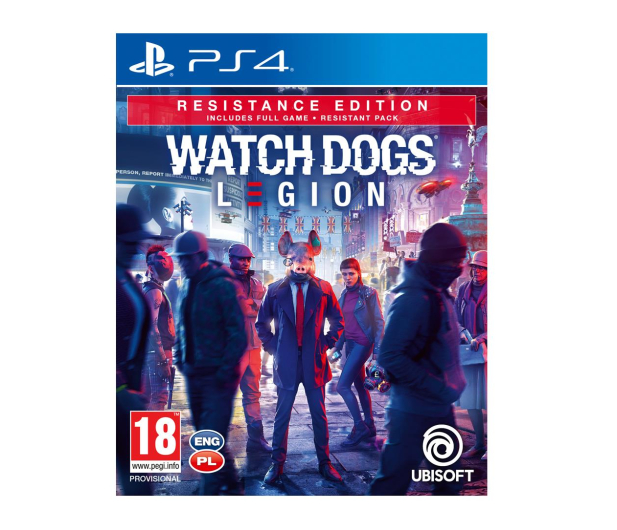 PlayStation Watch Dogs Legion Resistance Edition - 507967 - zdjęcie