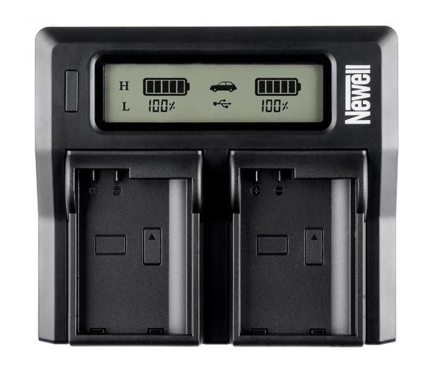 Newell DC-LCD do akumulatorów serii NP-FW - 505902 - zdjęcie