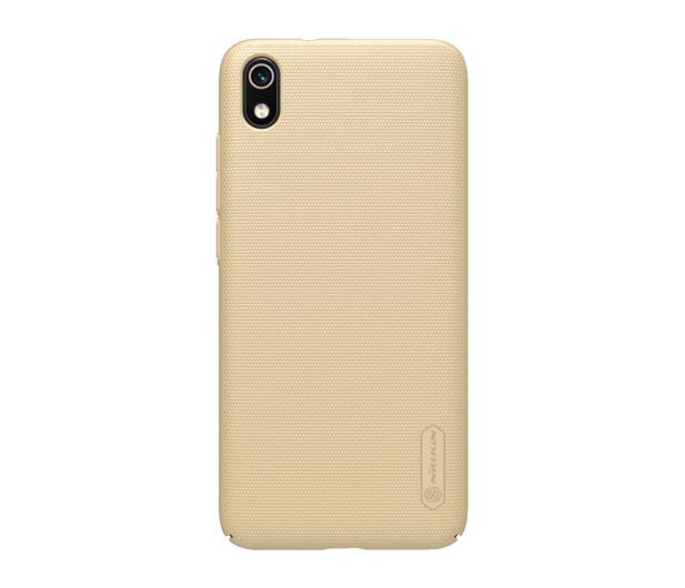 Nillkin Super Frosted Shield do Xiaomi Redmi 7A złoty - 507708 - zdjęcie
