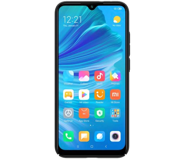 Nillkin Super Frosted Shield do Xiaomi Mi A3 czarny  - 507710 - zdjęcie 2