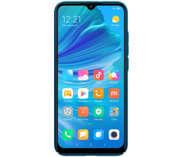 Nillkin Super Frosted Shield do Xiaomi Mi A3 niebieski - 507712 - zdjęcie 2