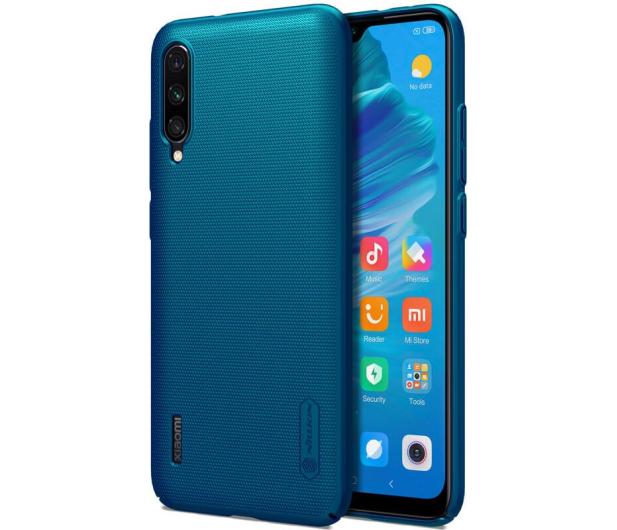 Nillkin Super Frosted Shield do Xiaomi Mi A3 niebieski - 507712 - zdjęcie 3