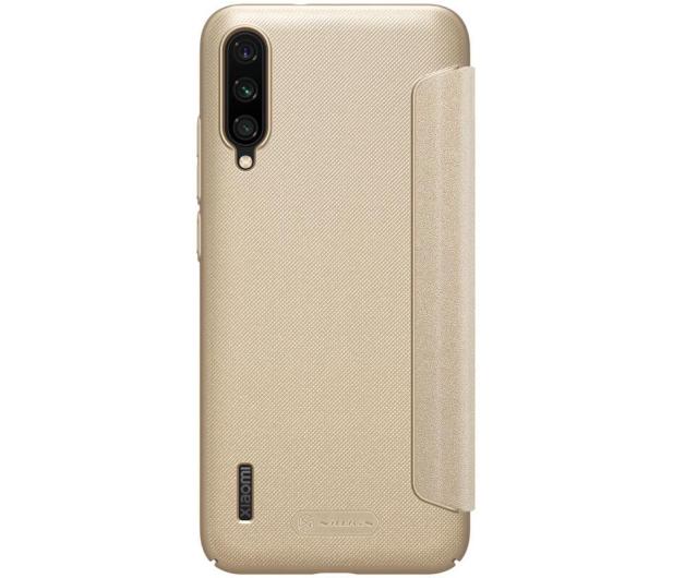 Nillkin Etui z Klapką Sparkle do Xiaomi Mi A3 złoty - 507718 - zdjęcie 2
