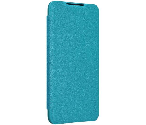 Nillkin Etui z Klapką Sparkle do Xiaomi Mi A3 niebieski - 507719 - zdjęcie 3