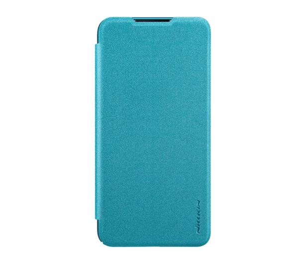 Nillkin Etui z Klapką Sparkle do Xiaomi Mi A3 niebieski - 507719 - zdjęcie