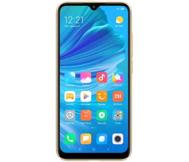 Nillkin Super Frosted Shield do Xiaomi Mi A3 złoty - 507715 - zdjęcie 2