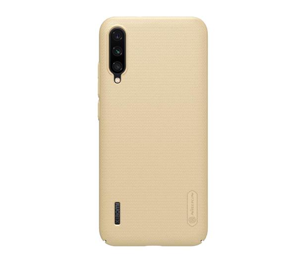 Nillkin Super Frosted Shield do Xiaomi Mi A3 złoty - 507715 - zdjęcie