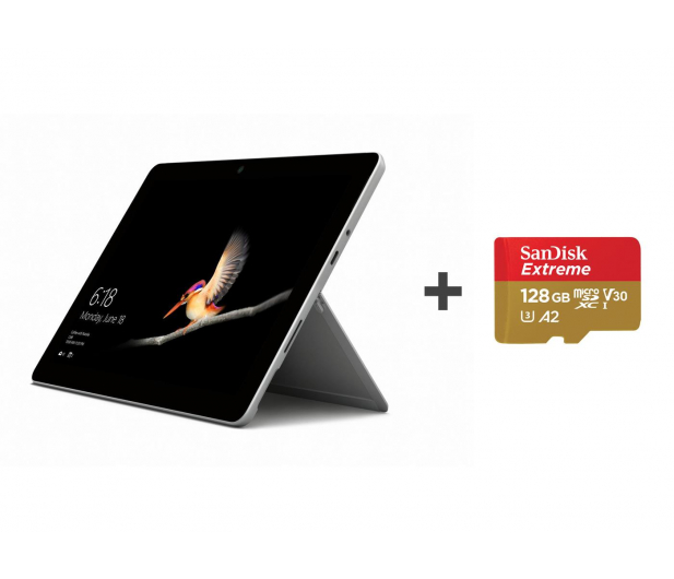 Microsoft Surface Go 4415Y/4GB/64GB/W10S + Karta 128GB - 508038 - zdjęcie
