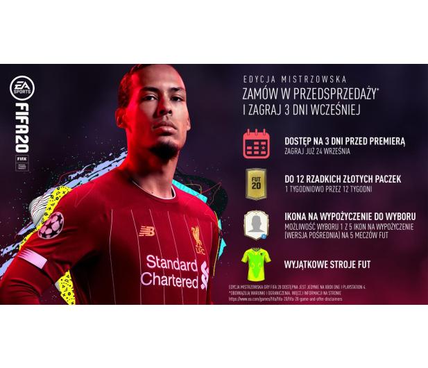 EA Sports FIFA 20 EDYCJA MISTRZOWSKA - 502095 - zdjęcie 2