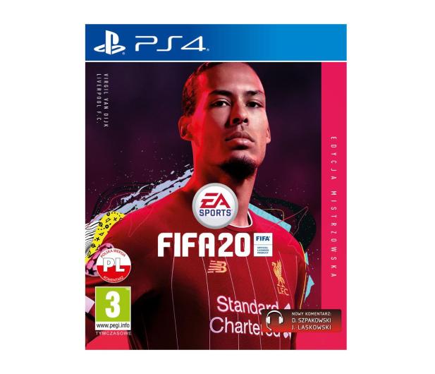 EA Sports FIFA 20 EDYCJA MISTRZOWSKA - 502095 - zdjęcie