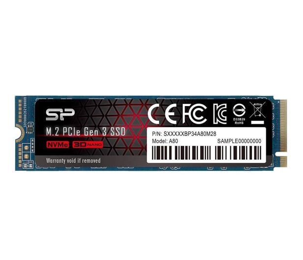 Silicon Power 512GB M.2 PCIe NVMe A80 - 508126 - zdjęcie