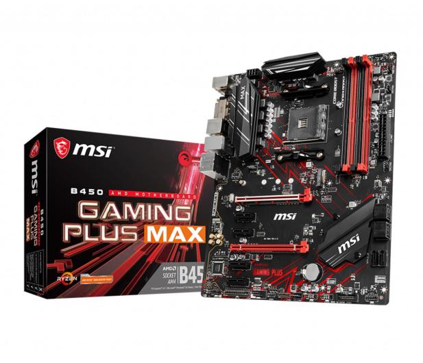 MSI B450 GAMING PLUS MAX - 508073 - zdjęcie