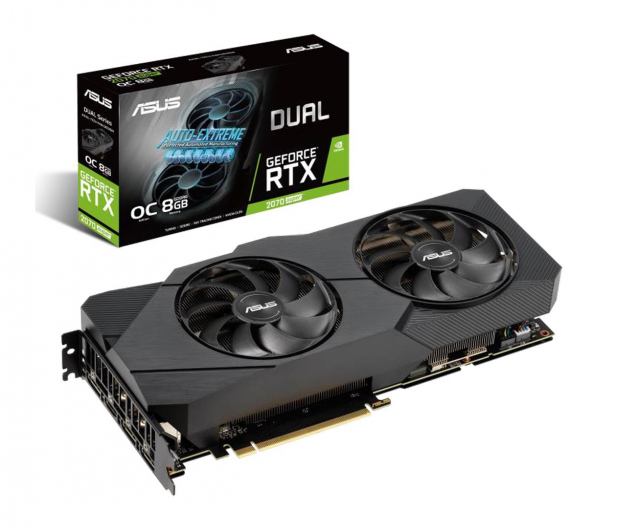ASUS GeForce RTX 2070 SUPER DUAL EVO OC 8GB GDDR6 - 504088 - zdjęcie