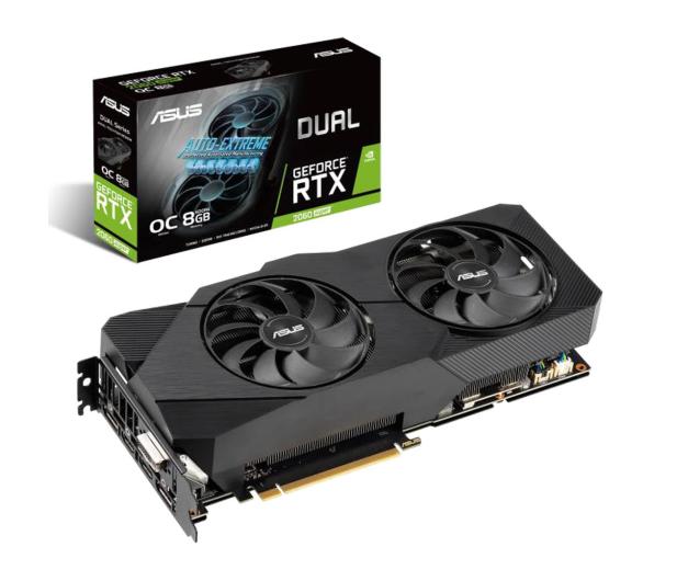 ASUS GeForce RTX 2060 SUPER DUAL EVO OC 8GB GDDR6 - 504093 - zdjęcie