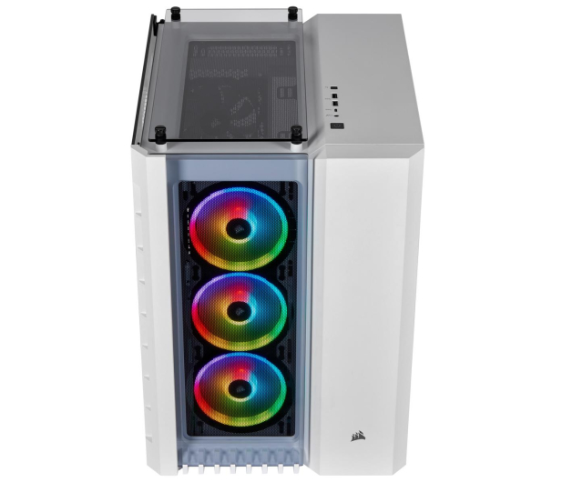Corsair Crystal Series 680X RGB High Airflow TG White - 504345 - zdjęcie 2