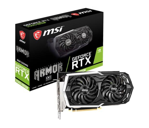 MSI Geforce RTX 2060 SUPER ARMOR OC 8GB GDDR6 - 504674 - zdjęcie