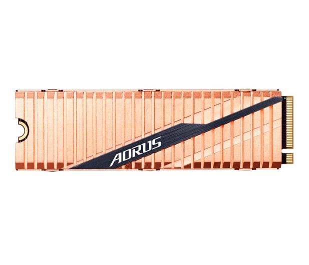 Gigabyte 2TB M.2 PCIe Gen4 NVMe AORUS - 504697 - zdjęcie