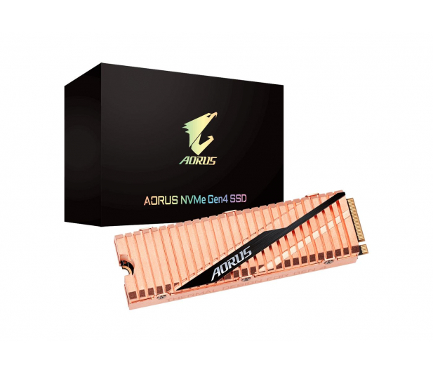 Gigabyte 2TB M.2 PCIe Gen4 NVMe AORUS - 504697 - zdjęcie 5