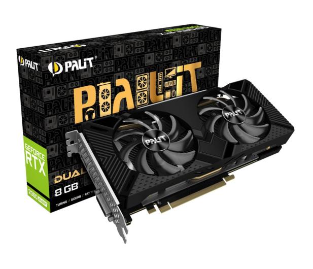 Palit GeForce RTX 2060 SUPER Dual 8GB GDDR6 - 505267 - zdjęcie
