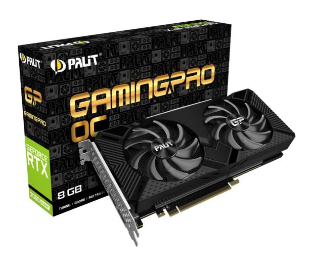 Palit GeForce RTX 2060 SUPER Gaming Pro OC 8GB GDDR6 - 505269 - zdjęcie