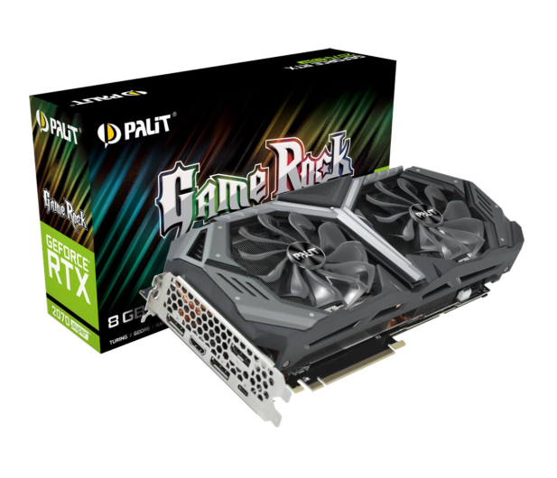 Palit GeForce RTX 2070 SUPER GameRock 8GB GDDR6 - 505277 - zdjęcie