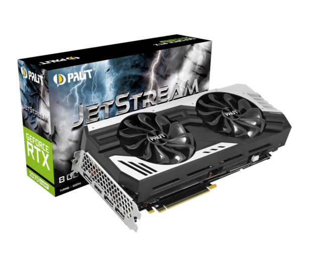 Palit GeForce RTX 2070 SUPER JetStream 8GB GDDR6 - 505281 - zdjęcie