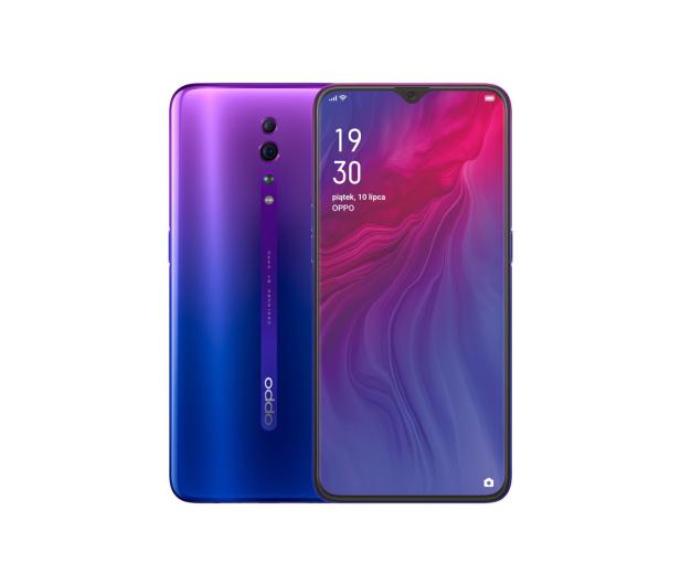 OPPO Reno Z 4/128GB Dual SIM Aurora Purple - 505076 - zdjęcie