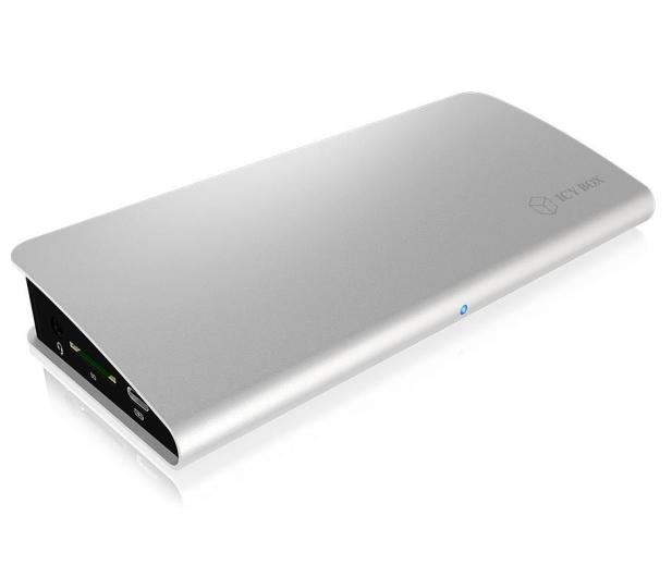 ICY BOX Stacja dokująca (USB-C, PD, HDMI, DisplayPort) - 505349 - zdjęcie 3