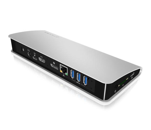 ICY BOX Stacja dokująca (USB-C, PD, HDMI, DisplayPort) - 505349 - zdjęcie