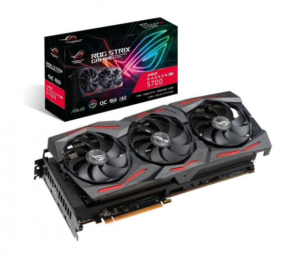 ASUS Radeon RX 5700 ROG Strix Gaming OC 8GB GDDR6 - 510677 - zdjęcie