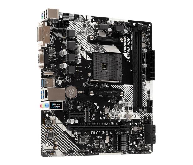 ASRock AB350M-HDV R4.0 - 509604 - zdjęcie 3